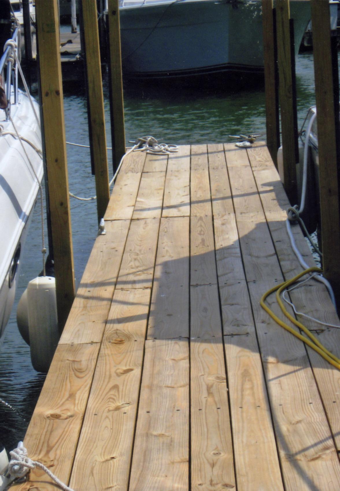 Dock close up